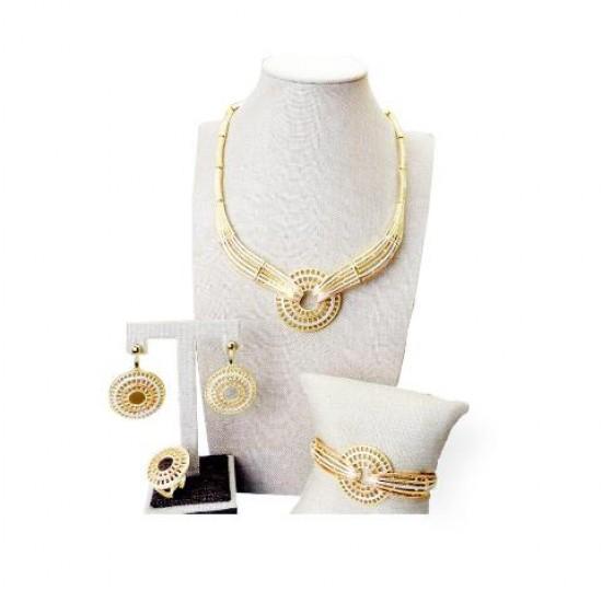 Lori tri-Color Jewelry set