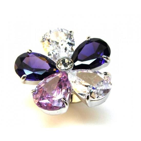 Crystal Fashion Ring